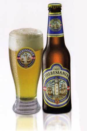 Premium Lager Theresianer Beer