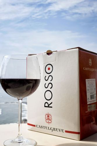 Vino rosso IGT Toscana Sangiovese in bag In Box