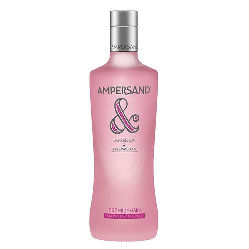Gin Ampersand Strawberry Flavour Premium